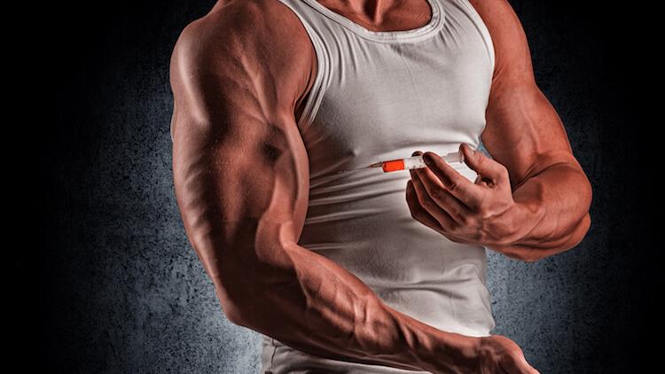 bodybuilder needle