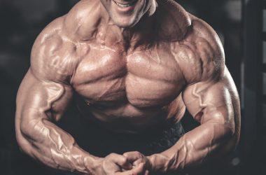man massive muscles